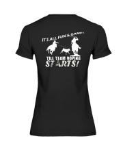 Team Roping T-Shirt Premium Fit Ladies Tee thumbnail