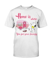 SNOOPY T-01 Classic T-Shirt front