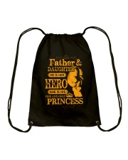 Father and Daughter Love Drawstring Bag thumbnail