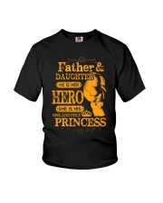 Father and Daughter Love Youth T-Shirt thumbnail