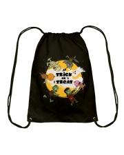 Trick Or Treat Halloween Drawstring Bag thumbnail