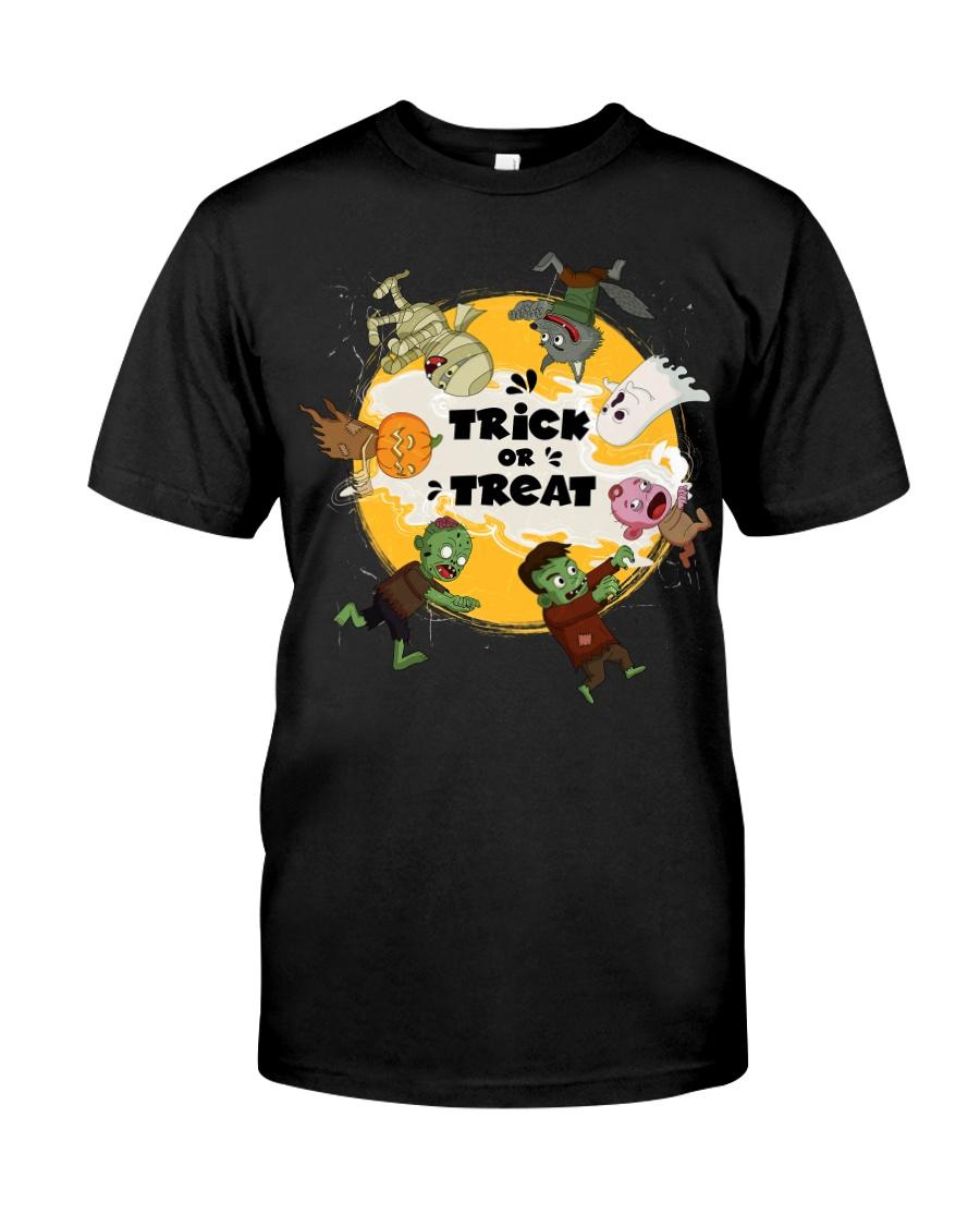 Trick Or Treat Halloween Classic T-Shirt
