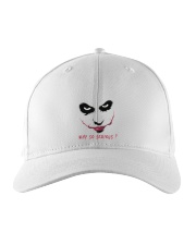 why So Serious  Embroidered Hat thumbnail