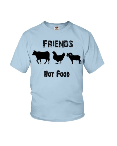 Vegan Shirt Vegan Fod friends not food