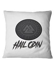 Hail odin mug  Square Pillowcase front