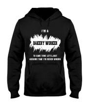 TEE BAKERY WORKER Hooded Sweatshirt thumbnail