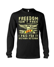 Vietnam Veteran Long Sleeve Tee thumbnail