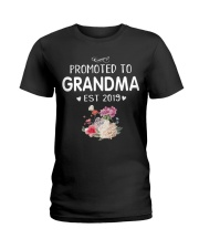 Promoted to Grandma Ladies T-Shirt thumbnail