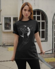 Cat Witch Classic T-Shirt apparel-classic-tshirt-lifestyle-19