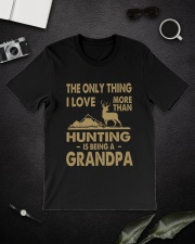 Hunting Grandpa Classic T-Shirt lifestyle-mens-crewneck-front-16