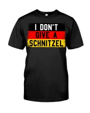I don't give a Schnitzel Classic T-Shirt front