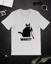 Black Cat what Classic T-Shirt lifestyle-mens-crewneck-front-16