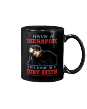 I HAVE A THERAPIST HIS NAME IS TOBY KEITH Mug tile