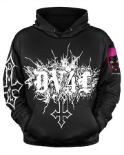 DV4L Unapologetically Different   Men's All Over Print Hoodie aos-men-hoodie-ghosted-front-03
