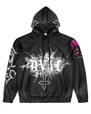 DV4L Unapologetically Different   Men's All Over Print Hoodie front