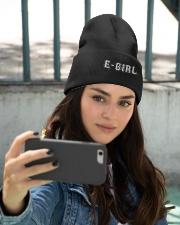 E-Girls Do It Good  Knit Beanie embroidery-beanie-lifestyle-11