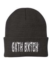 Calling 4 The Gxth Bxtch  Knit Beanie front