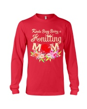 Knitting Long Sleeve Tee front