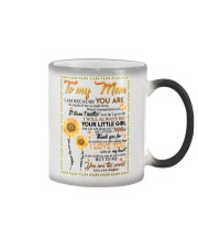 DAUGHTER TO MOM Color Changing Mug thumbnail