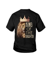 KING OF THE DAUGHTER Youth T-Shirt back