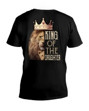 KING OF THE DAUGHTER V-Neck T-Shirt thumbnail