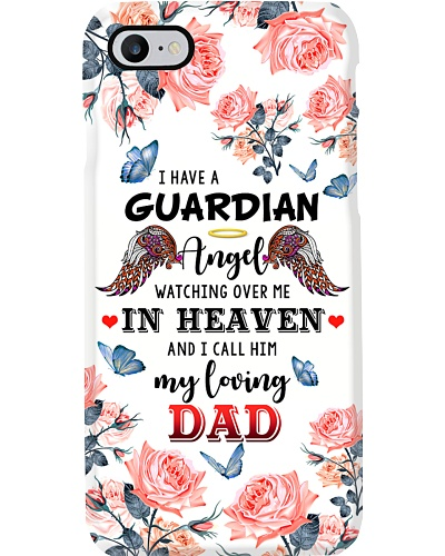 ANGEL DAD - PHONE CASE - DADDY'S GIRL