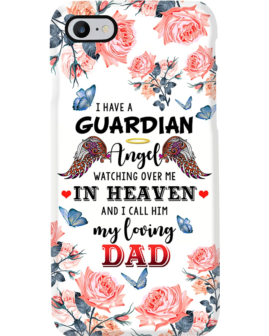 ANGEL DAD - PHONE CASE - DADDY'S GIRL Phone Case