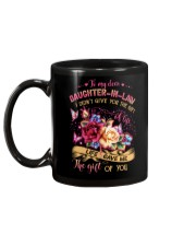 To My Daughter-in-law - Flowers - Gift of Life  Mug back