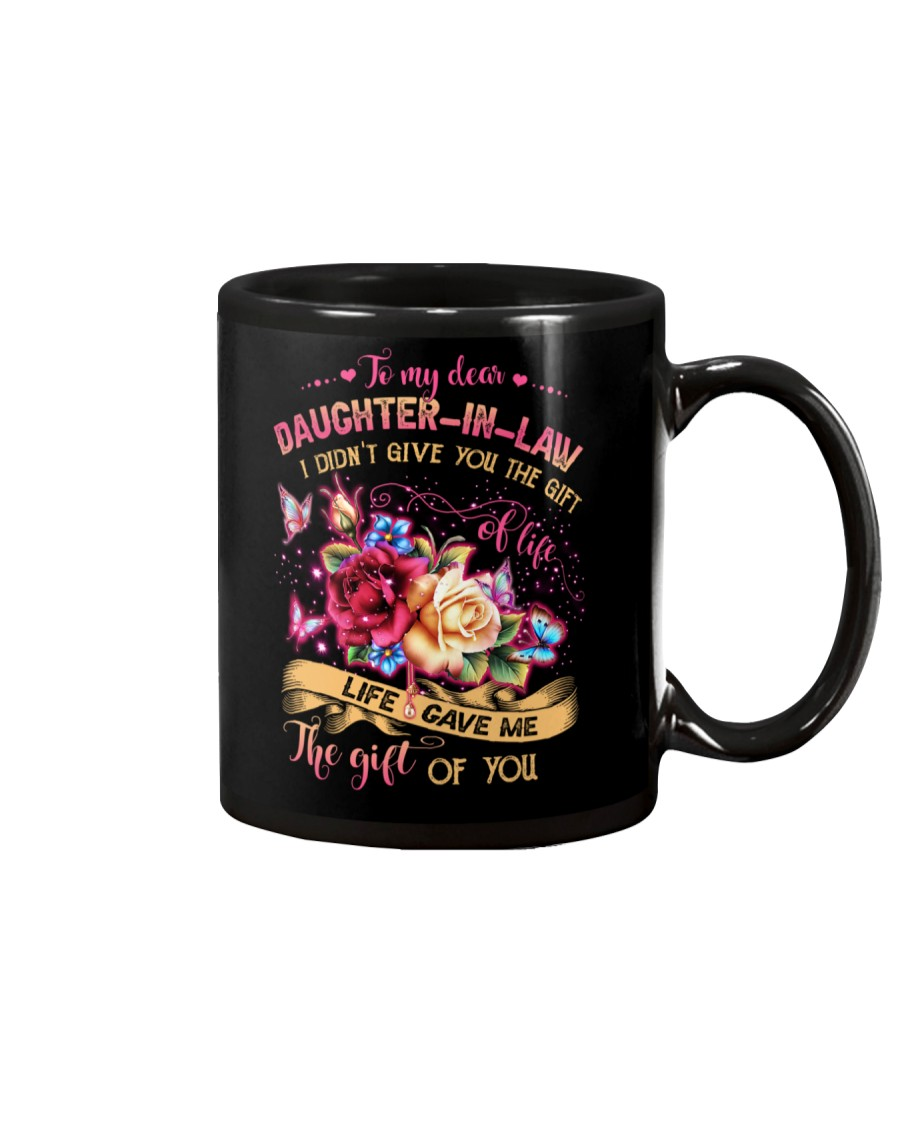 To My Daughter-in-law - Flowers - Gift of Life  Mug