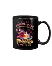 To My Daughter-in-law - Flowers - Gift of Life  Mug front