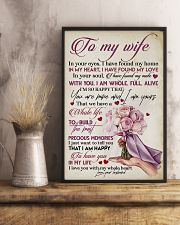 TO MY WIFE - ROSE - I LOVE YOU 16x24 Poster lifestyle-poster-3