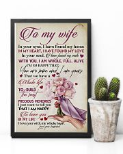 TO MY WIFE - ROSE - I LOVE YOU 16x24 Poster lifestyle-poster-8