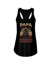 Papa Not as lean But still as mean Ladies Flowy Tank thumbnail