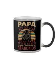 Papa Not as lean But still as mean Color Changing Mug thumbnail