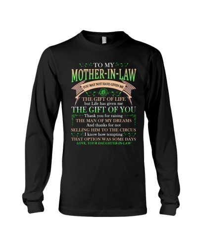 T-SHIRT - MOTHER-IN-LAW - CLOVER - THANK YOU