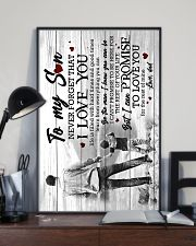 To My Son - Taking Hands - Learn From Everything  16x24 Poster lifestyle-poster-2