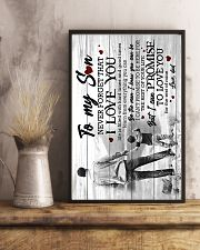 To My Son - Taking Hands - Learn From Everything  16x24 Poster lifestyle-poster-3