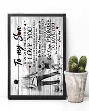 To My Son - Taking Hands - Learn From Everything  16x24 Poster lifestyle-poster-8