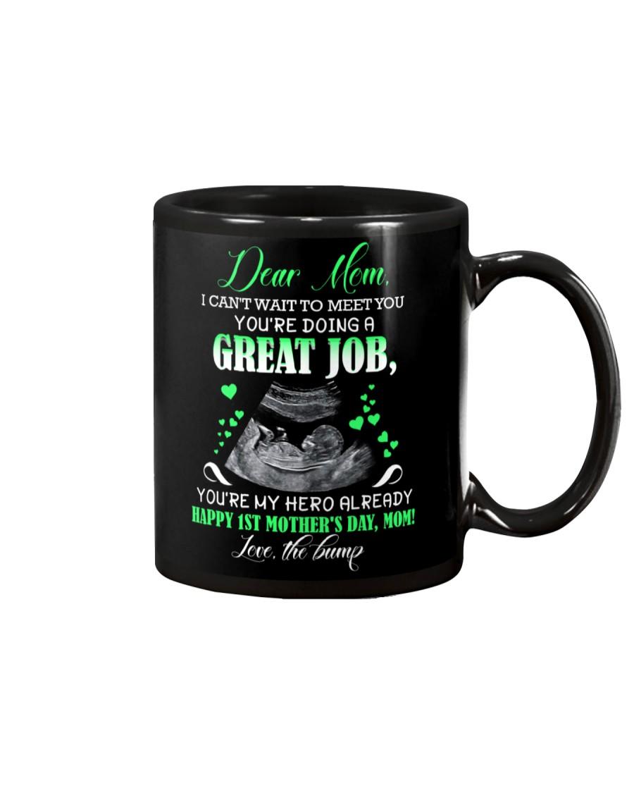 MUG - TO MOTHER - BABY - I CAN'T WAIT Mug