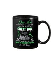 MUG - TO MOTHER - BABY - I CAN'T WAIT Mug front