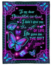 "To My Daughter-in-law - Galaxy Butterfly  Small Fleece Blanket - 30"" x 40"" front"