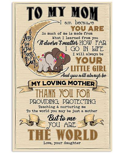TO MY MOM - ELEPHANT - THANK YOU