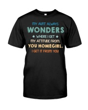 My aunt always wonders Classic T-Shirt thumbnail