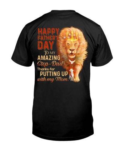 T-SHIRT - TO MY BONUS DAD - FATHER'S DAY