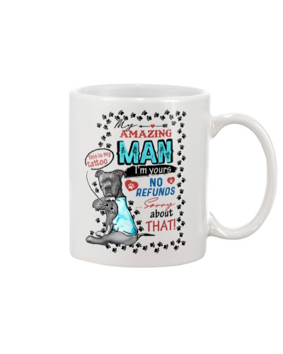 TO MY MAN - FUNNY MUG