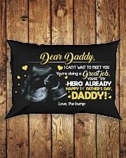 DEAR DADDY Rectangular Pillowcase aos-pillow-rectangle-front-lifestyle-2