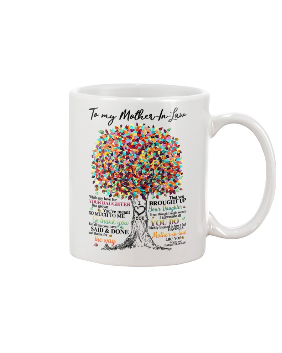 DAUGHTER TO MOTHER IN LAW Mug