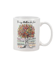 DAUGHTER TO MOTHER IN LAW Mug front