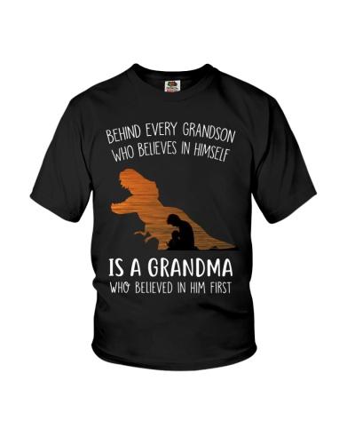 GRANDMA TO GRANDSON - BEHIND - FIRST