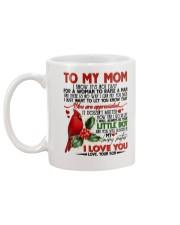 SON TO MOM Mug back